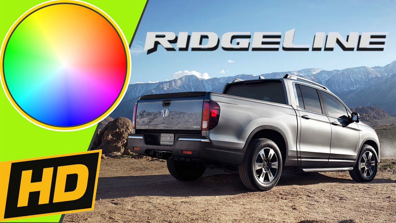 2017 Honda Ridgeline Paint Colors