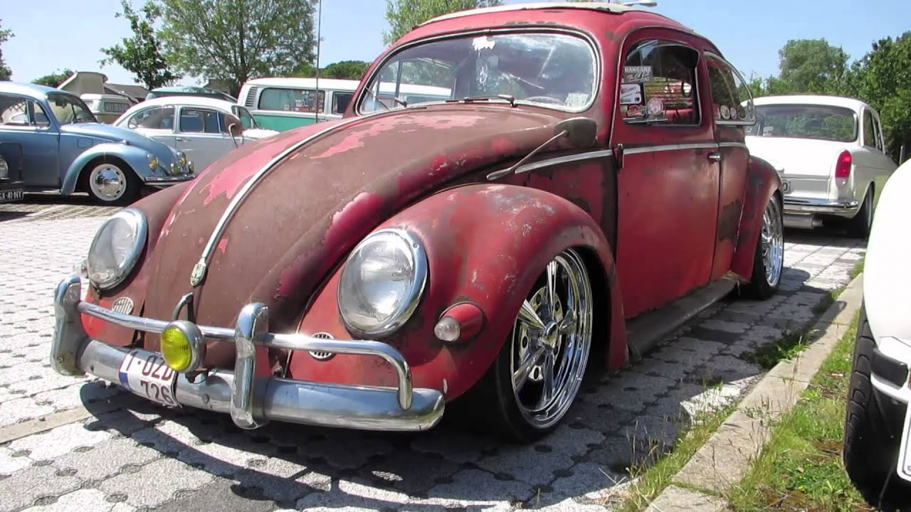 vw beetle red oval ragtop  nazereth  youtube