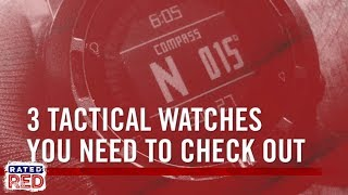 3 Military Tactical Watches You Need to Check Out