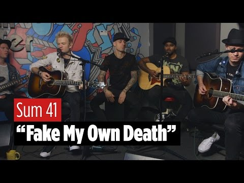 """SUM 41 """"Fake My Own Death"""" Live Acoustic"""