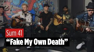 sum 41 fake my own death live acoustic