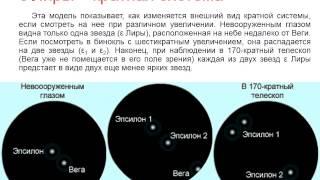 Астрономия. Урок №23. (Демо-обзор) Учитель Чигарёв Д.Л. Двойные звёзды. Масса звёзд