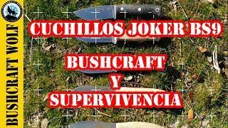 #Bushcraftknife #Survivalknife #EDCknife Cuchillos de Bushcraft y Supervivencia JOKER  KNIVES