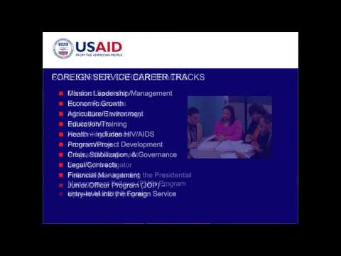 Ask the recruiter: Jobs with USAID