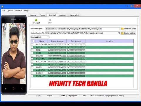 How to Flash iBall Andi 4 5C Magnifico(1+8GB) flash any dead mtk android  phone