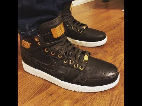newest ccb62 8ac4b Jordan Retro 1 Pinnacle Croc unboxing and on feet review