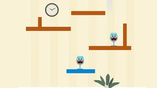 Spill It! Level (151-200) Gameplay Walkthrough Drop Balls And Break Glasses
