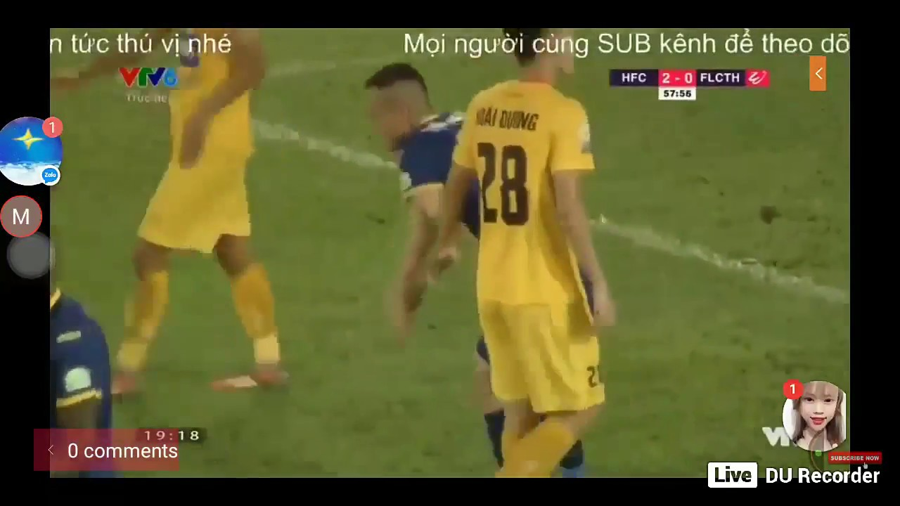 Trực tiếp bóng đá : Thanh Hoá FC vs Hải Phòng