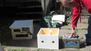 My Solar Energy System for Camping 12V Panels 4000W Inverter