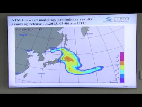 CTBTO Detects Radioactivity Consistent with North Korean Nuclear Test, announced Feb 2013