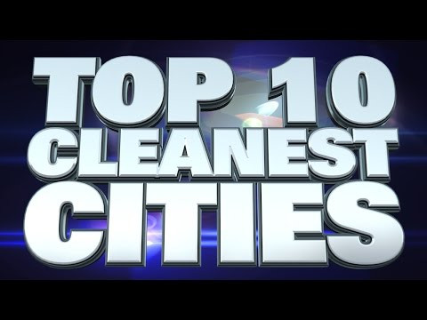 10 cleanest cities in the world 2014