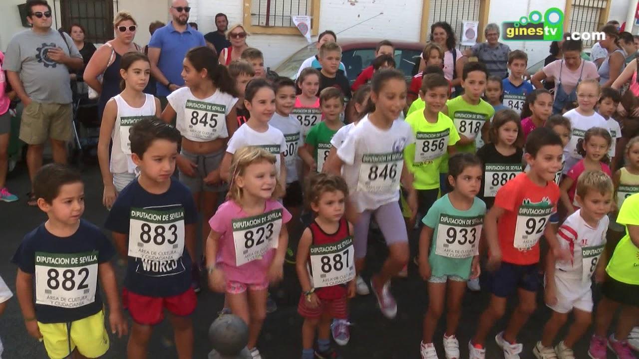 Niños y niñas de todas las edades participaron en la IV Carrera Popular Infantil 'San Ginés'