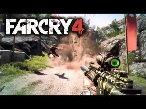 Far Cry 4 New Gameplay Trailer: Far Cry 4 Weapons of Kyrat ...
