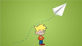 Kağıttan Uçak Nasıl Yapılır? - Çocuklar İçin Origami
