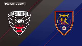 D.C. United vs. Real Salt Lake | HIGHLIGHTS - March 16, 2019