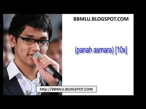 Afgan - Panah Asmara (LIRIK) | OFFICIAL LYRIC VIDEO @LIRIKMUSIK10