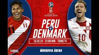 Peru vs Denmark World Cup Football Highlights 2018