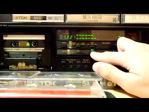 TDK D 180 1982 Audio Cassette Test