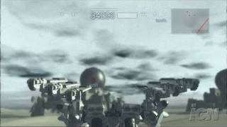 Armored Core 4 Xbox 360 Gameplay - Big Tanks (HD)