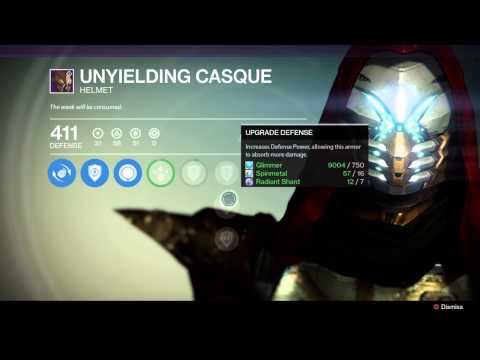 DESTINY - CROTAS END RAID HELMET (HUNTER) FOUND! The Dark Below