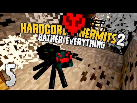 Hardcore Hermits 2 | NO, NO, AND NO! | #5 | Minecraft HermitCraft Event