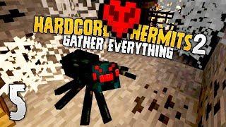 Hardcore Hermits 2 | NO, NO, AND NO! | #5 | Minecraft HermitCraft Event
