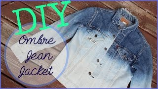 DIY Studded Ombre Jacket! 3 Ways to Style it!