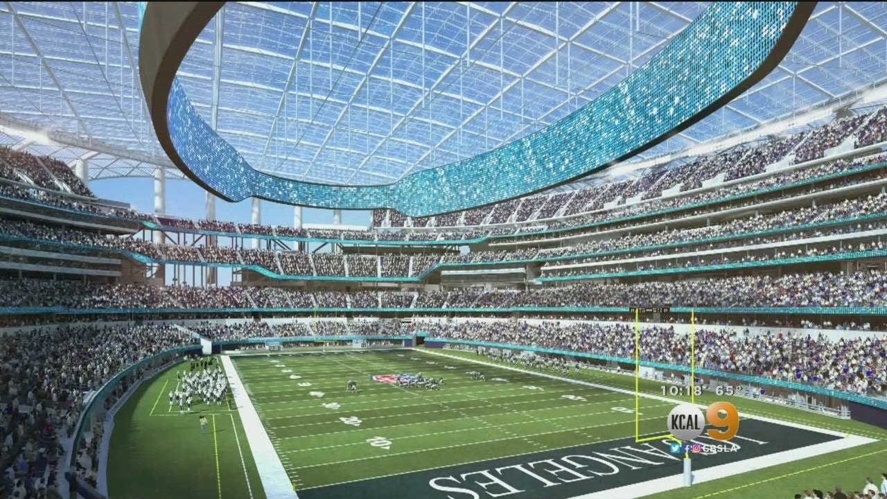 Behind The Scenes At La Stadium As Construction Of Future