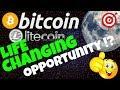 🚀BITCOIN & LITECOIN, LIFE CHANGING OPPORTUNITY !?🚀 btc ltc price prediction, analysis, news, trading