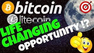 🚀BITCOIN & LITECOIN, LIFE CHANGING OPPORTUNITY !?🚀 btc ltc price prediction, analysis, news, trading