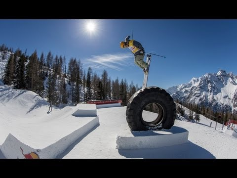 Ski & Snow Contest in Italy – Red Bull Innsnowation 2013 – Part 1