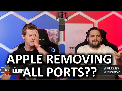 A PORT-LESS iPHONE?? - WAN Show Dec 6, 2019