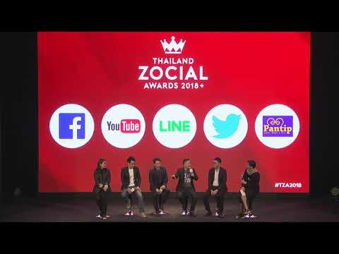 Talk On Stage By Platforms - Thailand Zocial Awards 2018