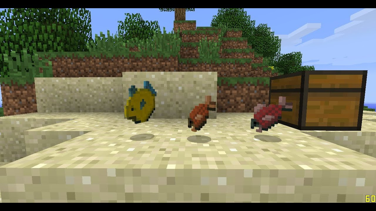 minecraft how to catch puffer fish