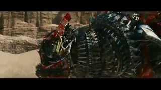 Transformers: La venganza de los caídos (2009) Skids y Mudflap vs Devastator (HD latino)