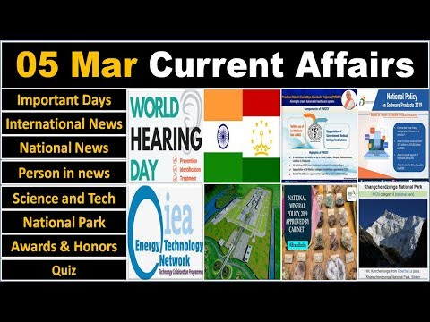 5 March 2019 PIB News, The Hindu, Indian Express - Current Affairs in Hindi, Nano Magazine, VeeR