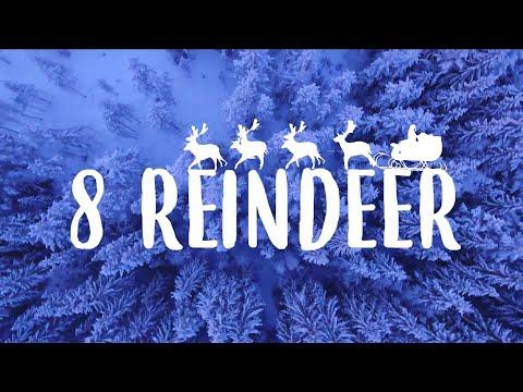 Candy Cane Lane - 8 Reindeer