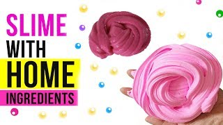 NO GLUE HOME INGREDIENTS SLIME! Testing Easy Slime Recipes Under 5 Minutes #5
