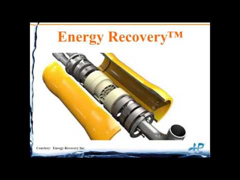 Energy Recovery for RO Units