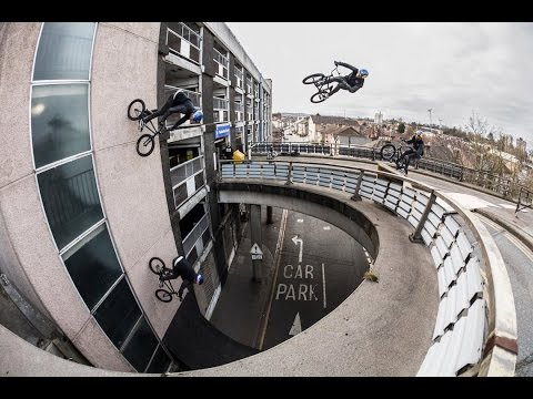 JUMPING OFF BRIDGES ON BMX! BEHIND THE SCENES OF
