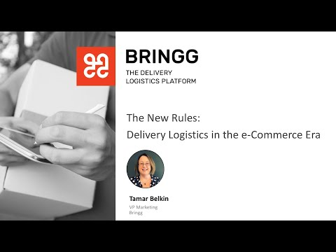 [Webinar] The New Rules: Delivery Logistics in The e-Commerce Era