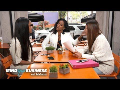 Mehgan James, Mahisha and Tanya's Heated Exchange | Mind Your Business with Mahisha | OWN