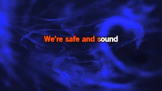 Repeat youtube video Capital Cities Safe And Sound (Karaoke)