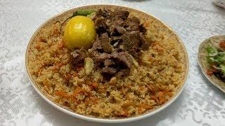 Как Приготовить Настоящий Таджикский Плов. Готовим дома, на кухне.