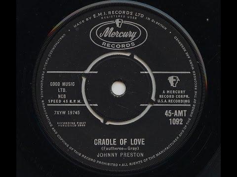 Johnny Preston 'Cradle Of Love' 1960 45 Rpm