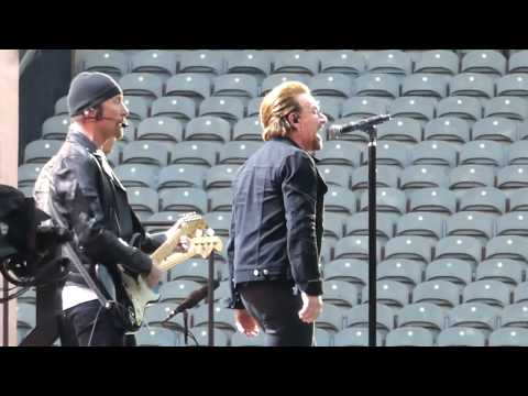 U2 Where The Streets Have No Name, Dublin 20170722  U2gigscom