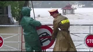 VTC14 | Thừa Thiên Huế: vỡ đê biển và lũ lên nhanh, khiến ngập nhiều nơi