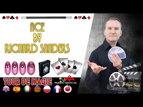ACE BY RICHARD SANDERS  { MAGIC TRICKS }