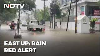 Rain Red Alert Issued For Eastern UP; Orange Alert For Delhi