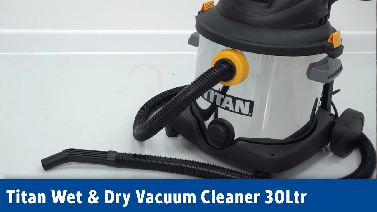 Titan Wet  U0026 Dry Vacuum Cleaner 16ltr